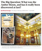 Savage M. The Big Question: What was the Amber Room, and has it really been discovered at last?